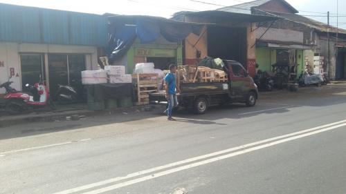 pengiriman via HEXA (Indonesia Timur)